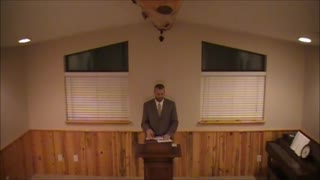Acts 1 Preached By Pastor David Berzins