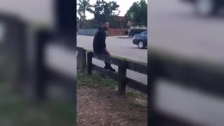 Rapper Stitches Brings A Baseball Bat To A Fist Fight! - Video
