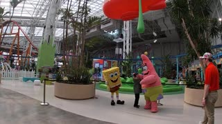 Spencer with SpongeBob and Patrick