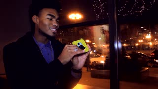 Magician uses Snapchat for some new age street magic - Video