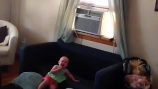Scared baby  - Video