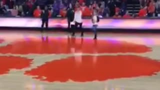 Talented 12 year old sings National anthem