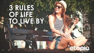 3 basic rules of life - Video