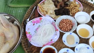 Yummy cooking chicken with sugarcane recipe _ Cooking skills _ Khmer Survival Skills