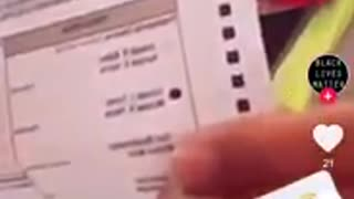 Poll Worker Rips up SOMEONES ballot