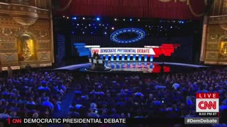 Dem Debates: Kamala Harris and Joe Biden shake hands