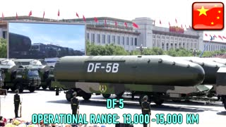Missile Range Comparison of Nuclear Power Countries