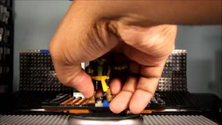 """CiiC Mega Bloks TMNT OOTS Pirate Mikey """"STOPMOTION Mikey DROVE a BOAT"""" - Video"""