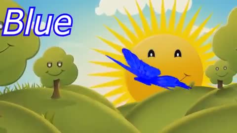Smart Cartoon about colored butterflies Educational video for kids in English about colors