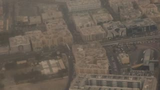 Best view of dubai from Aeroplane  - Video