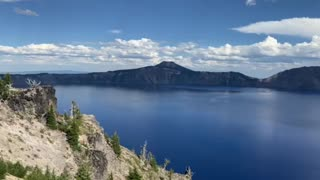 Beautiful day at Crater Lake