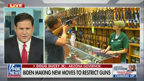 AZ Governor On Biden's Anticipated Gun Control Action