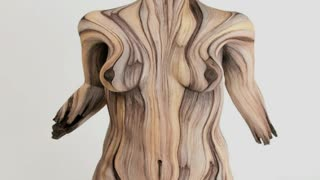 Artist Creates Beautiful Woodlike Sculptures Out Of Clay