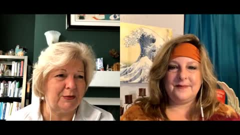 Dr Tenpenny and Deb Peitsch from Hollywood producer to awakening