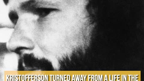 8 Things You Didn't Know About Kris Kristofferson