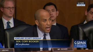 Sen Corey Booker Explodes on Sec Nielsen for Trump's Alleged Comments: 'I Had Tears of Rage' - Video