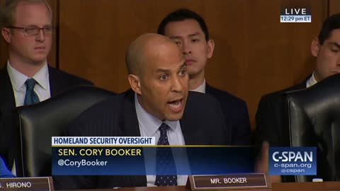 Sen Corey Booker Explodes on Sec Nielsen for Trump's Alleged Comments: 'I Had Tears of Rage'