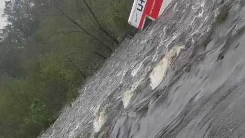 Roadside Flood Rescues in North Carolina