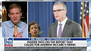 FBI Report Says Andrew McCabe 'Lied Four Times' About Media Leaks - Video