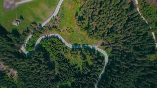 Aerial Drone shot Stock Video Copyright Free