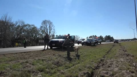 PURSUIT THAT STARTED IN SAN JACINTO COUNTY ENDS IN LIVINGSTON...