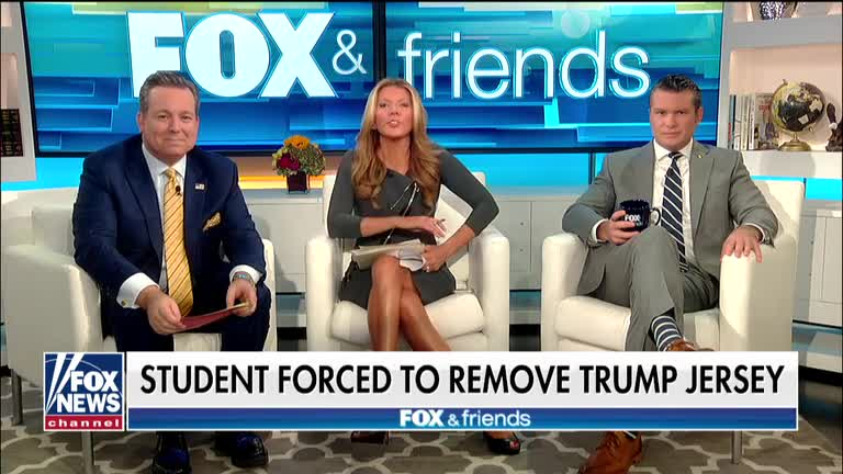 Michael Berry - HS Student Forced To Remove Pro-Trump / Pro-America Jersey