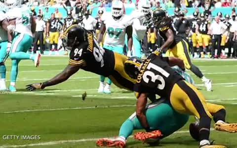 Watch Steelers Lawrence Timmons Puke Everywhere Mid Game