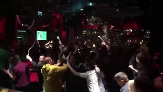 Northern Ireland fans react to Euro Cup qualifying - Video