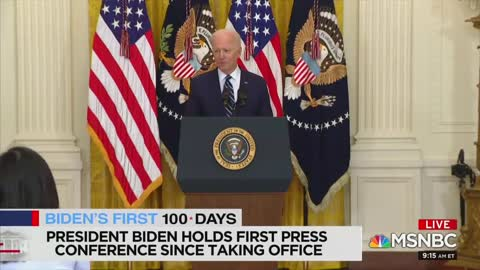 MSNBC Analyst Comments On Biden Press Conference
