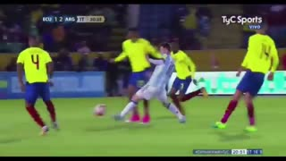 Gol de Messi (2) vs Ecuador - Video
