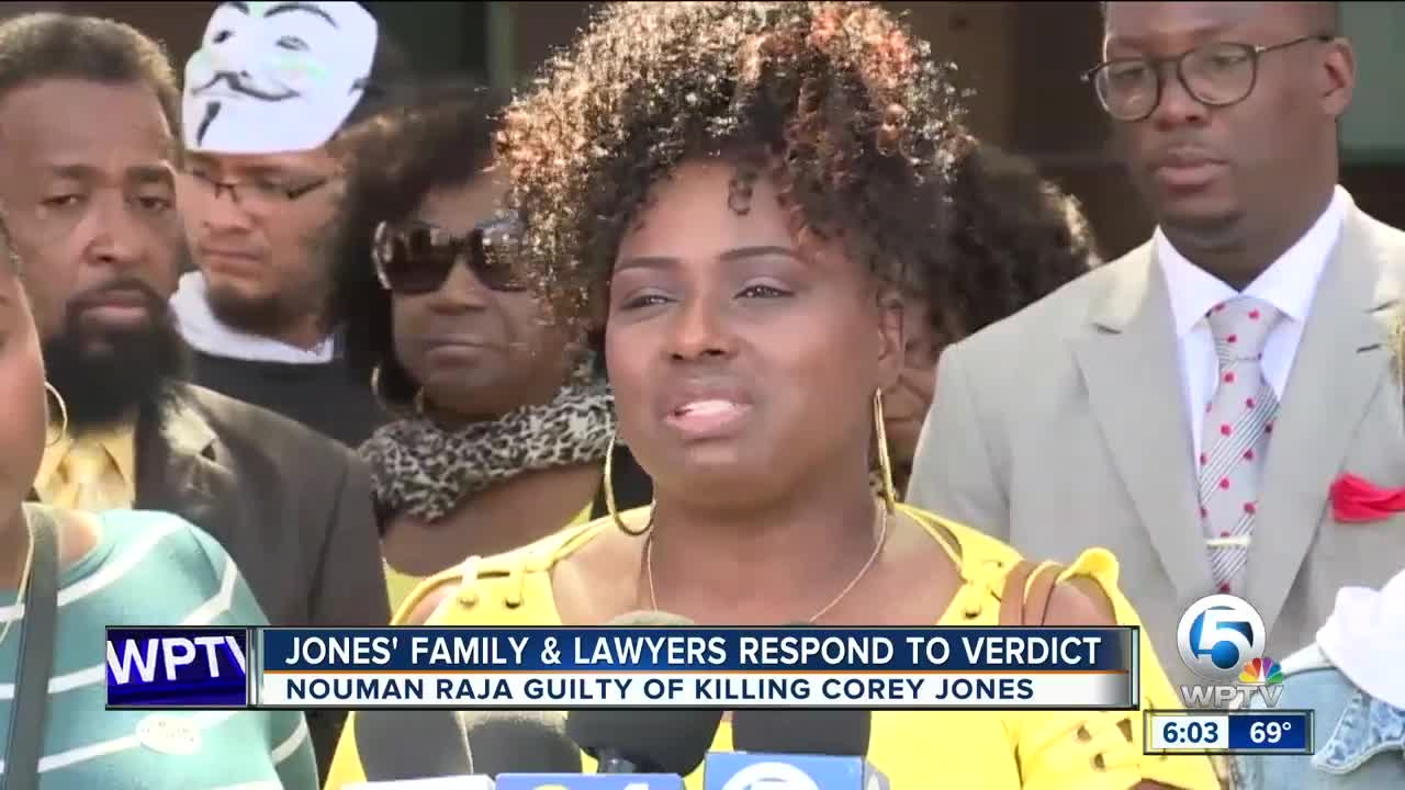 Family of Corey Jones expresses thanks at news conference