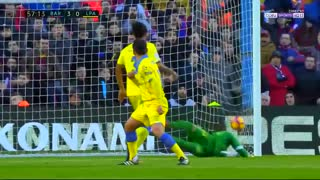 Segundo gol de  Suarez  vs Las Palmas - Video