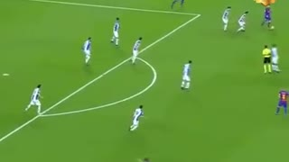 Iniesta and Messi - Video