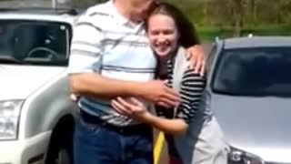 Navy Brother Surprises Sister For Her College Graduation - Video