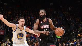 Draymond Green KICKS James Harden In The Face! - Video