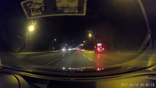 Vancouver Meteor Sighting Caught on Dashcam - Video