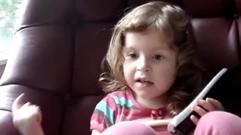 3-year-old best friends have cutest phone conversation ever!