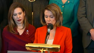 pelosi anti Gop tax bill - Video