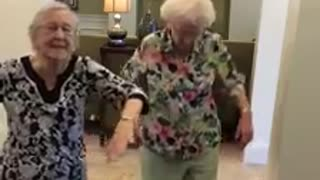 Dancing grandmothers get down to 'Whip/Nae Nae' - Video