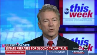 Rand Paul DESTROYS George Stephanopoulos