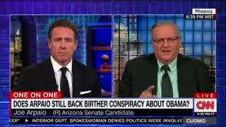 CNN's Chris Cuomo Brings on Sheriff Joe After He Announces Senate Run and Things Get Explosive - Video