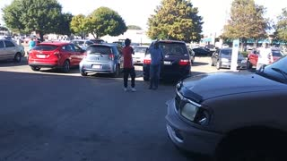 Dude Gets Handled After Threatening To Harm A Veteran! - Video