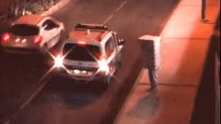 Moving Traffic Cam Catches The Wrong Driver