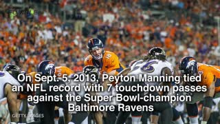 Peyton Manning Career Highlights - Video