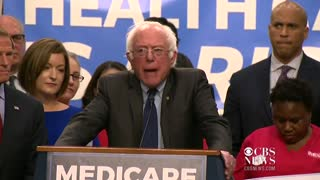 Bernie Sanders says healthcare must be a right and not a privilege
