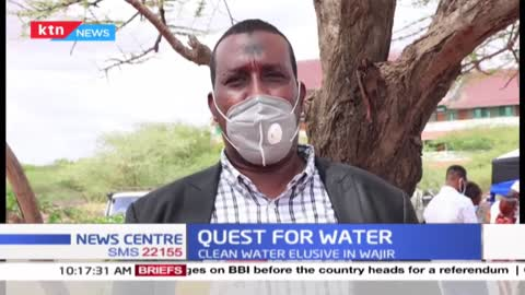 Majority of Wajir residents depend on shallow wells for water