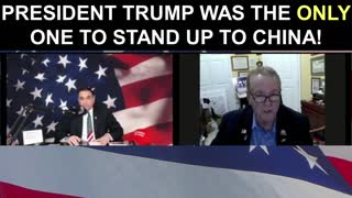 President Trump was The ONLY One To Stand Up To China!