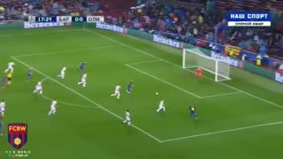 FC Barcelona 1:0 Olympiacos - Video