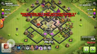 COC attack : Lava Loon Attack Strategy - Video