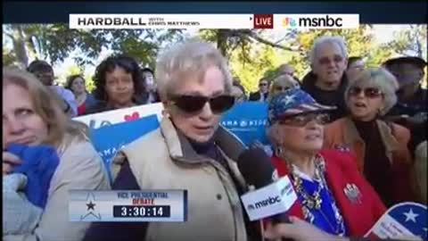 DATED 2012 Woman says Obama Is a Communist on Live Television (1.23, 10)